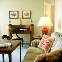 Blick in eine Junior-Suite des Hessischen Hofs