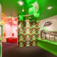 Blick in das Schlauspielhaus, der Technik-orientierte Erlebnisausstellung in der Dependance des Deutschen Museums in Bonn