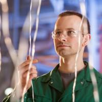 Sichtprüfung von Glasfasersträngen zu Produktion von Langfaser-Compounds