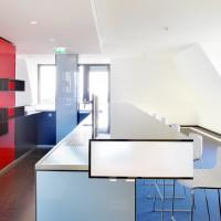 Lounge im Dominium Köln - Verwaltungsgebäude der Generali Versicherung