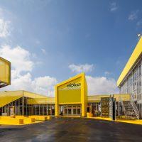 Fliegende Bauten als Ausstellungshallen auf der BAUMA in München